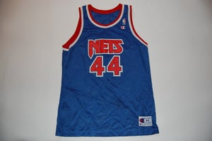 Image of Vintage NJ Nets Jersey