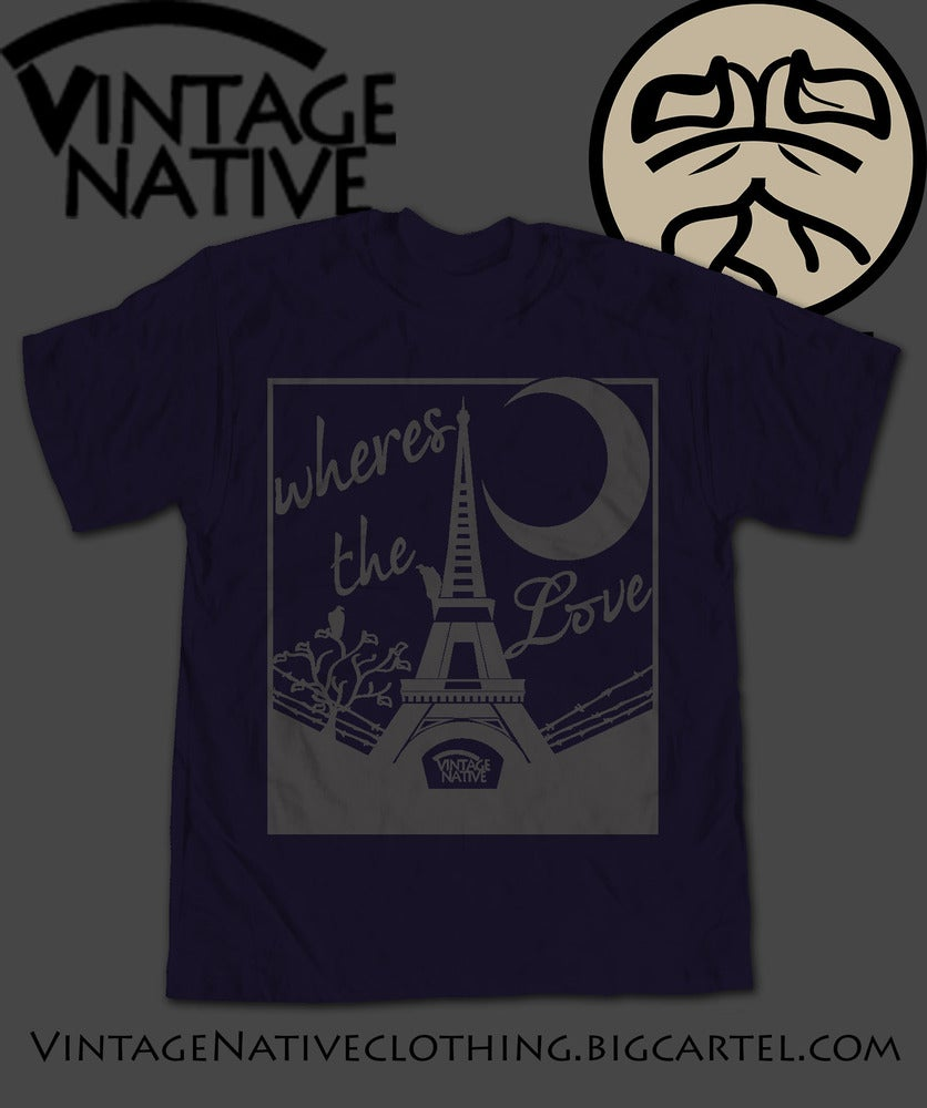 Image of Midnight In Paris Tee Navy