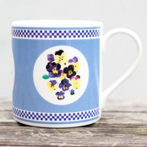 Image of Blue Pansy Mug
