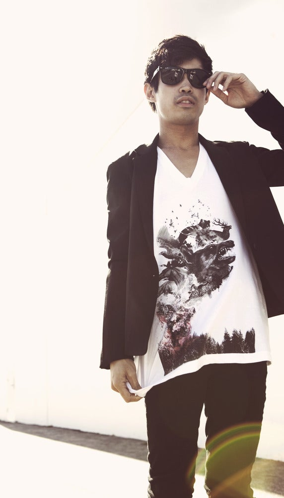 Image of Burning Forest Tee