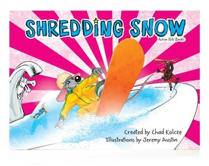 Image of SHREDDING SNOW