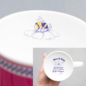Image of Pink Fuchsia Mug