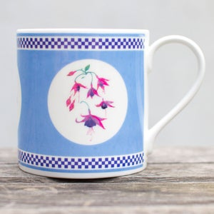Image of Blue Fuchsia Mug