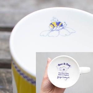 Image of Yellow Pansy Mug