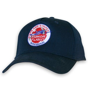 Image of Washed Twill Cap by Bayside made in USA