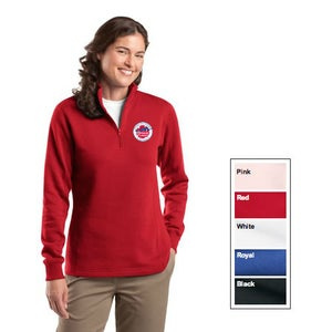Image of 1/4 Zip Ladies Sweatshirt – Sport-Tek