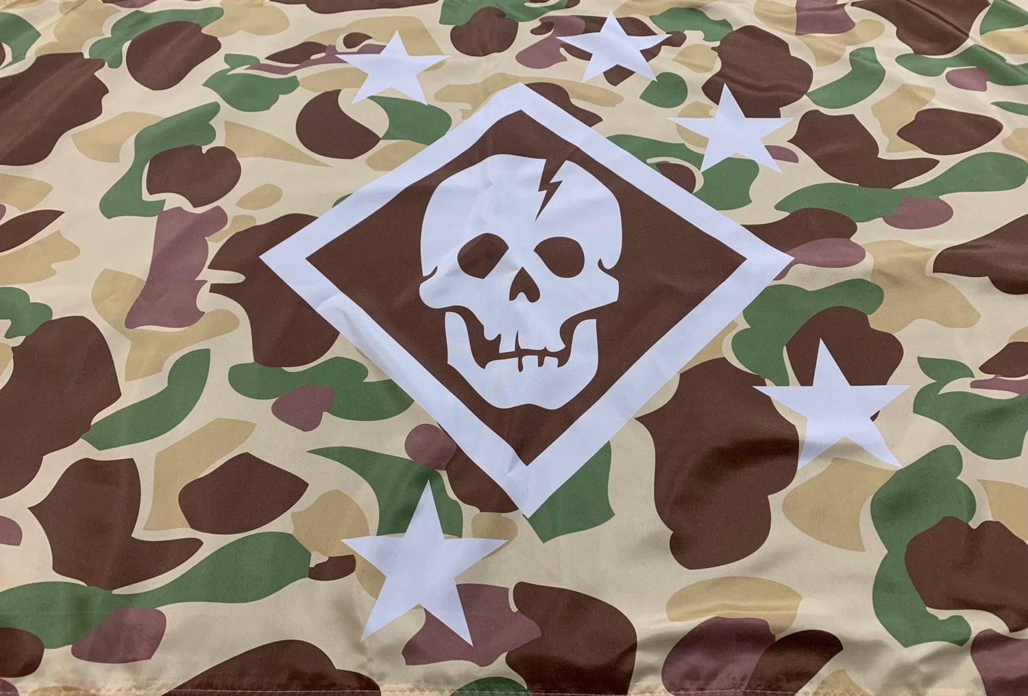 Image of M1942 Frogskin Camo Flag