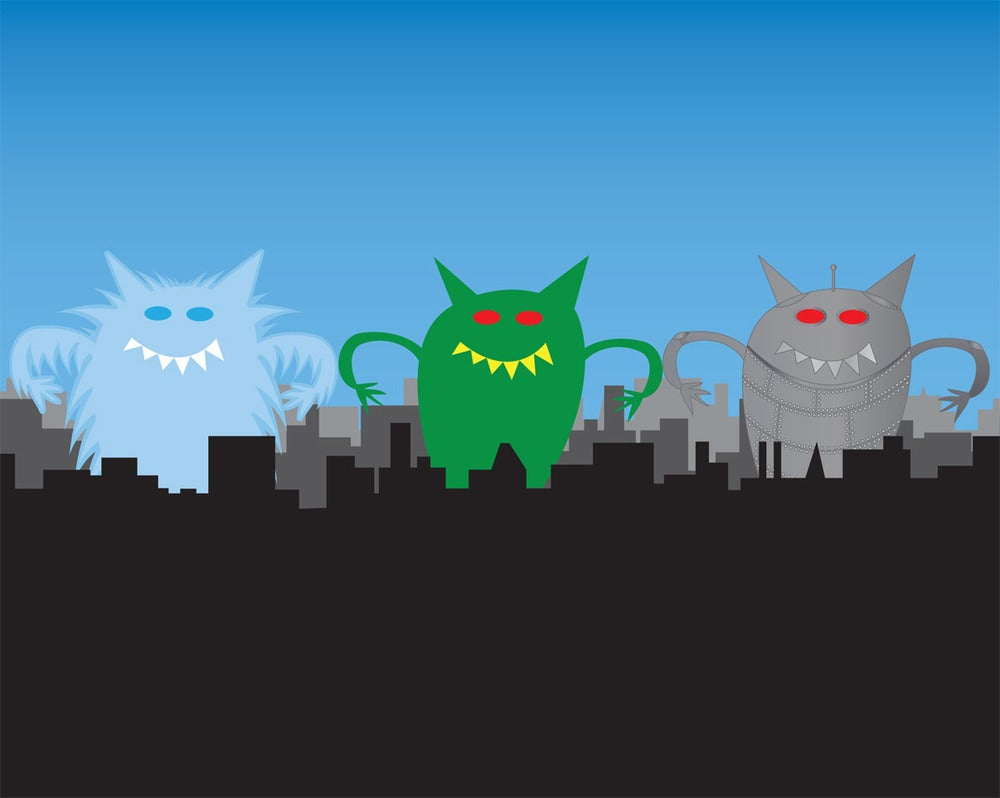 Monster VS. The World Print Collection #5