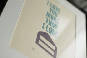 Image of I love you more than I love cake