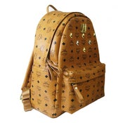 Image of MCM Backpack Stark Visetos Medium