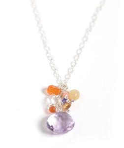 Image of Silver Drop Necklace