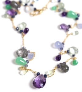 Image of Multicolor Stone Necklace 2
