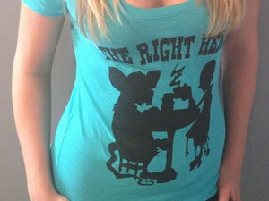 "Image of  ""All Herky-Jerky"" Tea Party Silhouette (Ladies)"