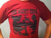 Image of All Herky-Jerky Tea Party Silhouette (Red)