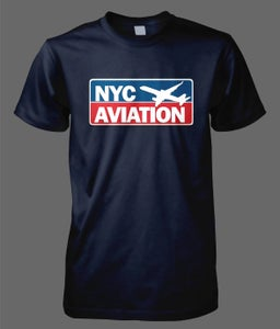 Image of NYCAviation NEW Logo Shirt