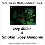 Image of Izzy Miller & Smokin' Joey Gambrell Sticker