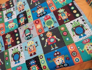 Image of Robot Quilt