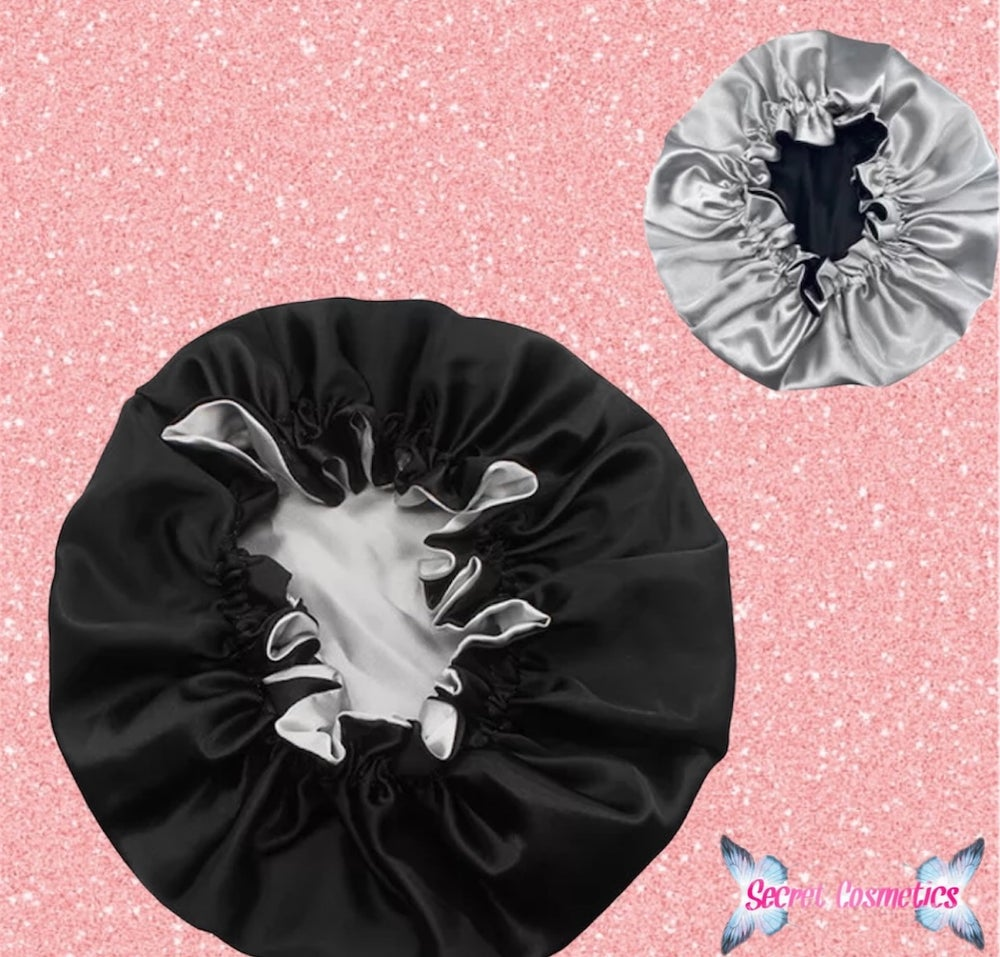 Image of Double Layer Satin Hair Bonnets 💗