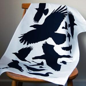 Image of Bird tea towel No.1