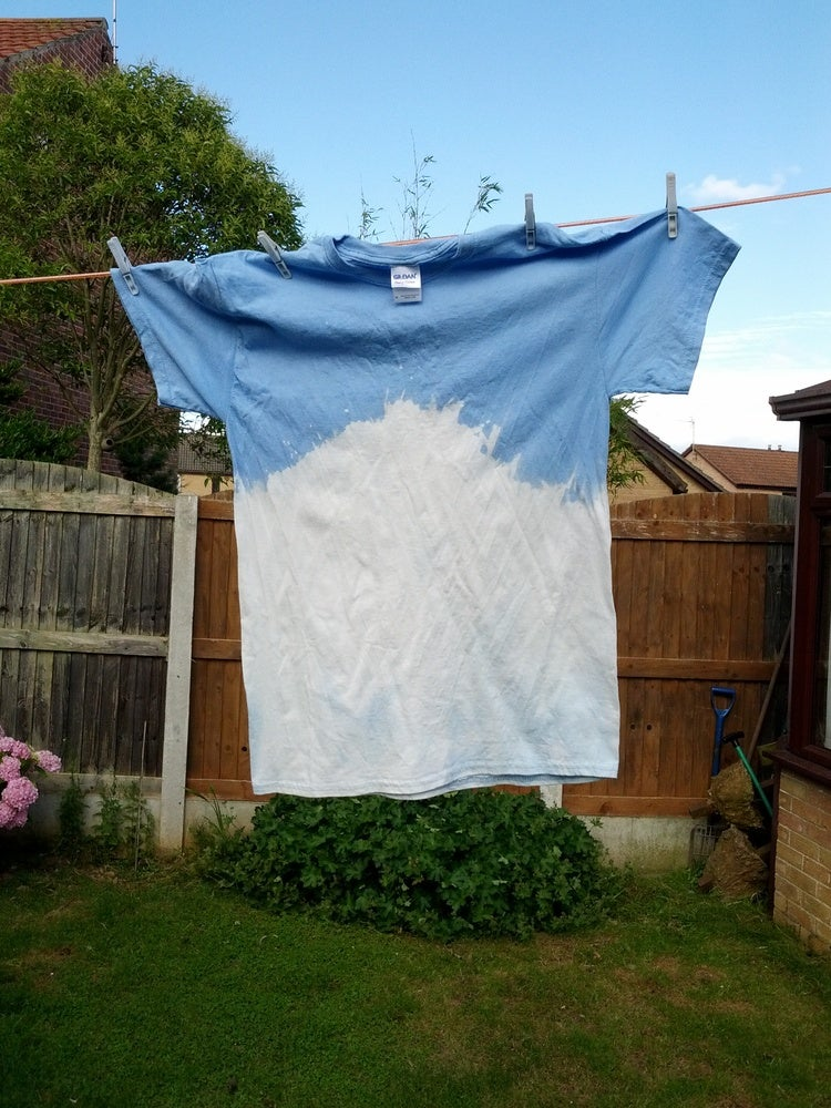 Image of Blue Halfwash Fade