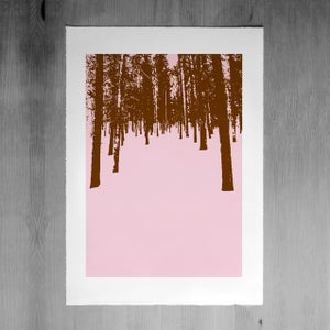 Image of Winter Forest 2 print