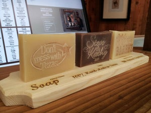 Image of Personalized Handmade Soap - Welcome