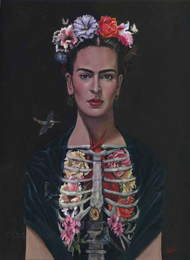 Image of Frida - Open Edition Giclee 8x10