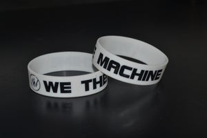 "Image of We The Machine ""Logo"" Rubber Wristband"