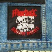 Image of MORDAX woven patch - Soulless disciple