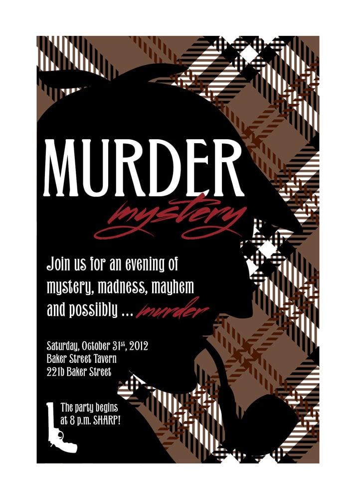 Murder Mystery Party (Sherlock Holmes)