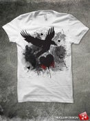 Image of Freedom V.2 unisex white tee