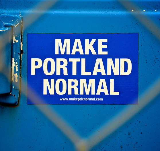 Image of Make Portland Normal Sticker
