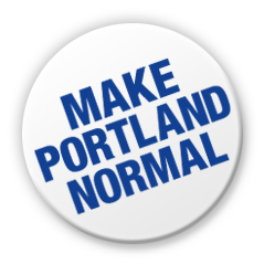 "Image of Make Portland Normal 1.25"" button"