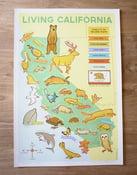 Image of Living California Map