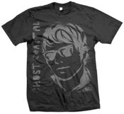 Image of GHOST STENCIL SHIRT BLACK