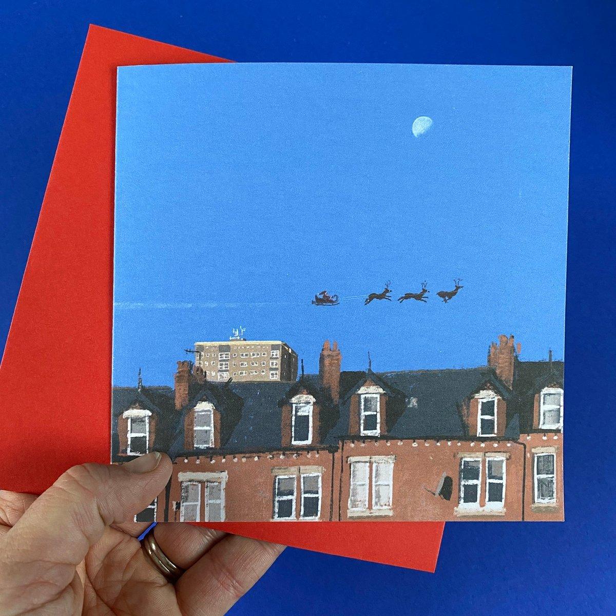Image of 'The Methleys' Luxury Greetings Card (single or Multipack)