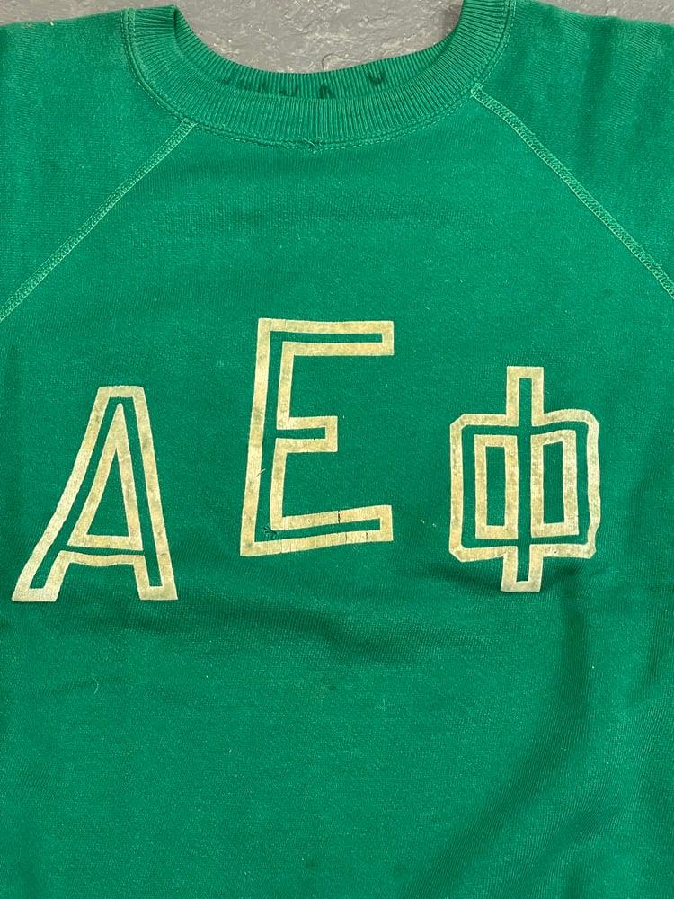 Image of 50s fraternity S/S sweatshirt