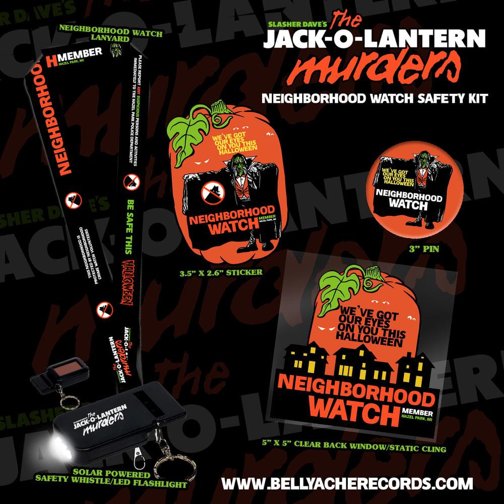 Image of Slasher Dave's Neighborhood Watch Safety Kit ***PRE-ORDER***