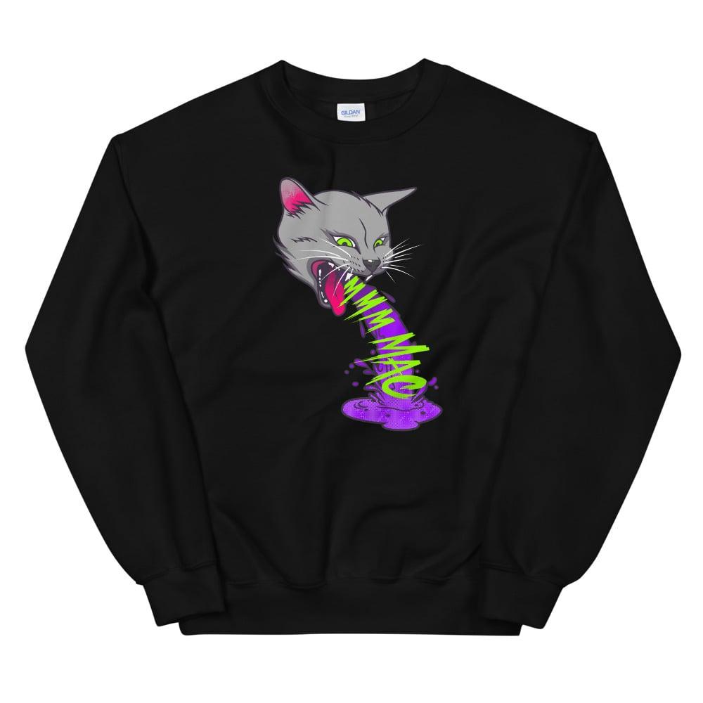 "Image of Miss Alley Cat ""M-M-M-MAC!"" Crewneck"