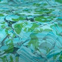 Marbled Paper Iridescent Waves II - 1/2 sheets