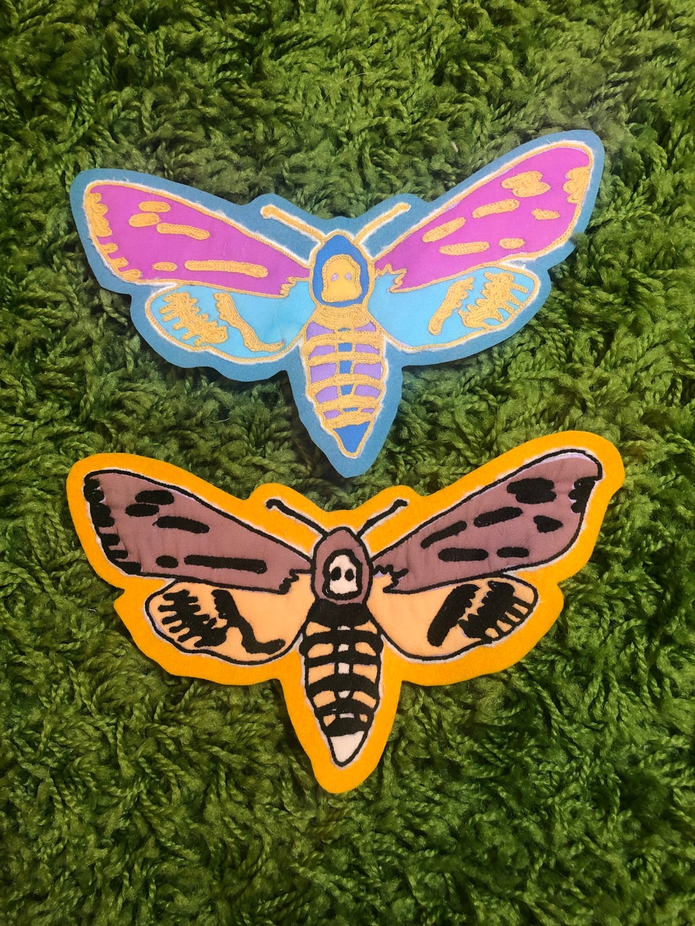 Image of Dead Head Moths
