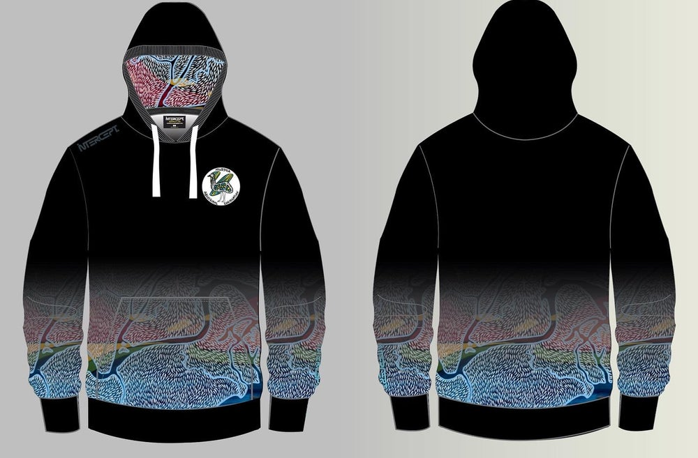 Image of Yarrawali Aagalgu HOODIES - Limited Sizes available Fade design