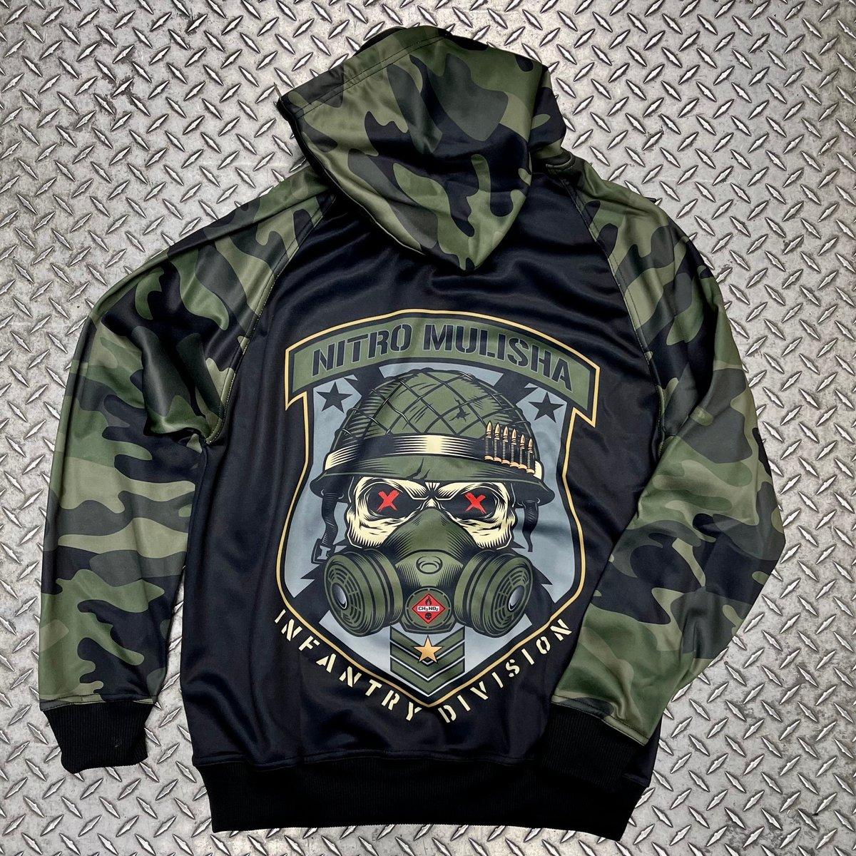 """Image of Nitro Mulisha """"Infantry"""" Hoodie"""
