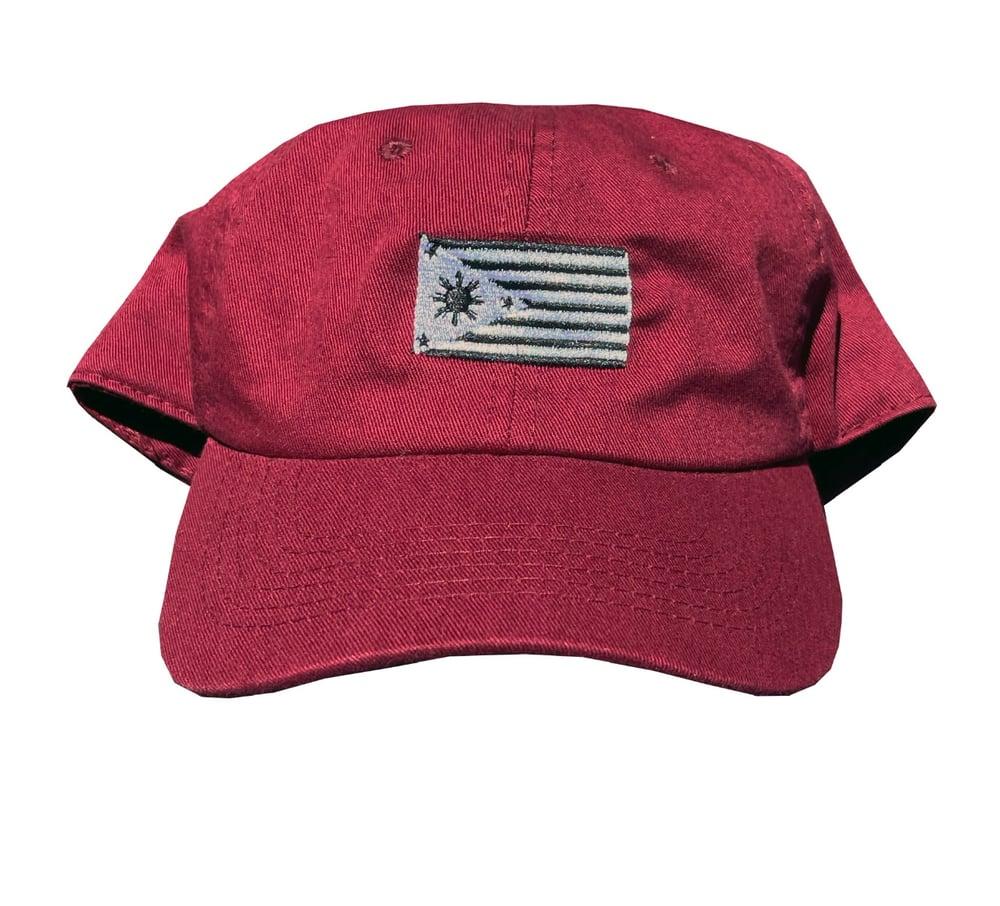 Image of Fil-am Dad hat Maroon