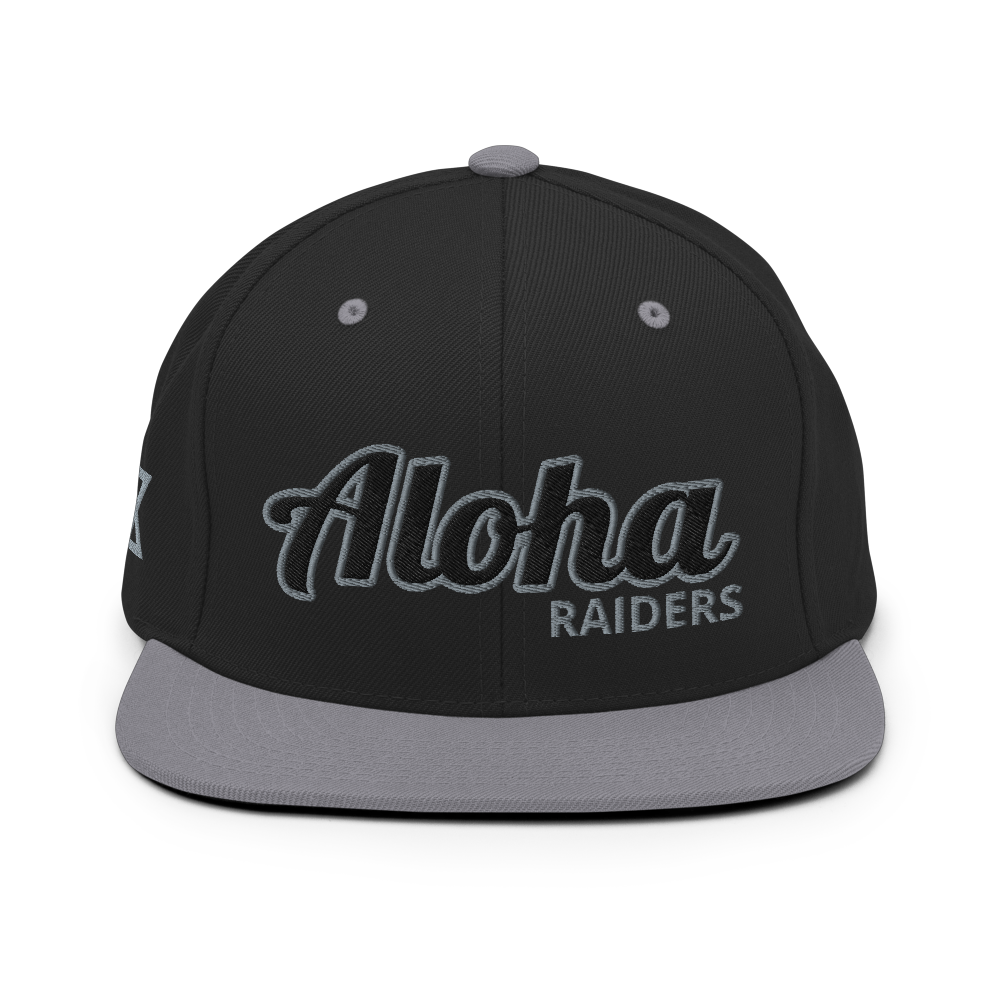 "Aloha ""Raiders"" Snapback"