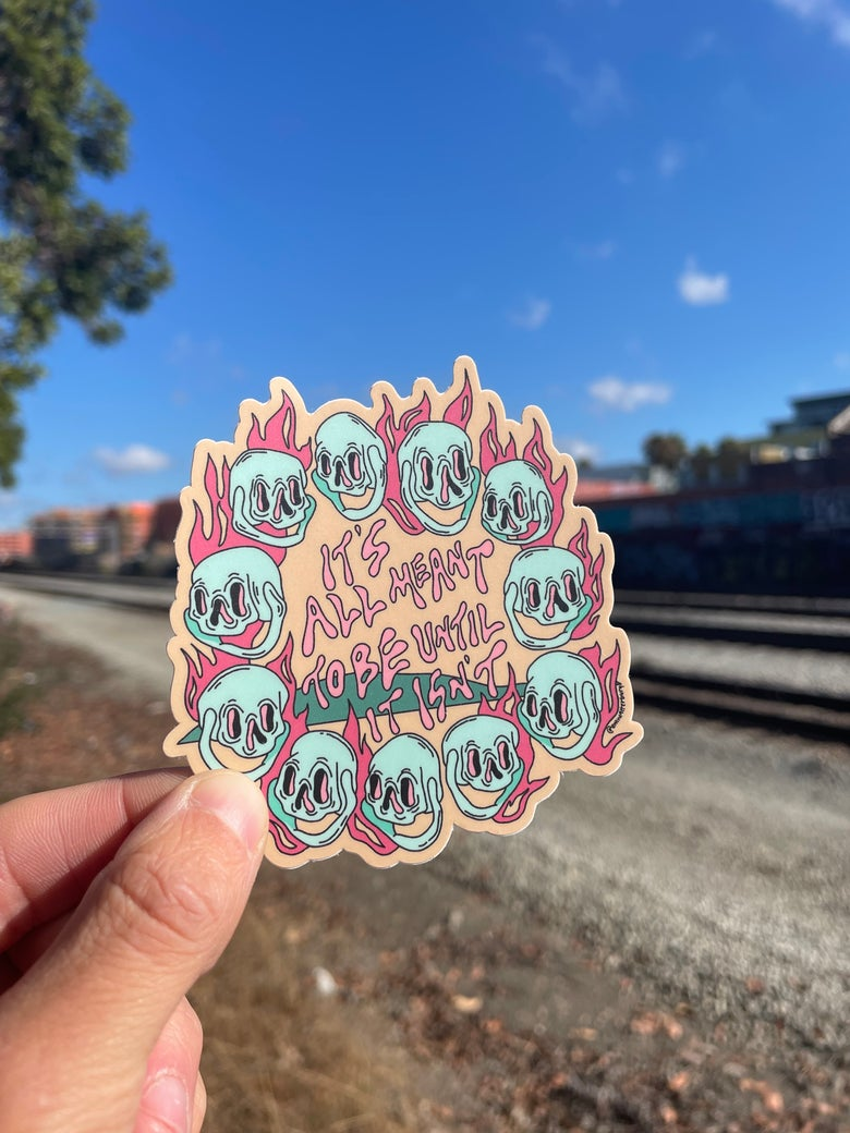 Image of Meant To Be Sticker