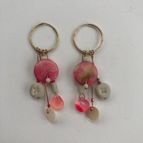 Image of Pink Summer Earrings