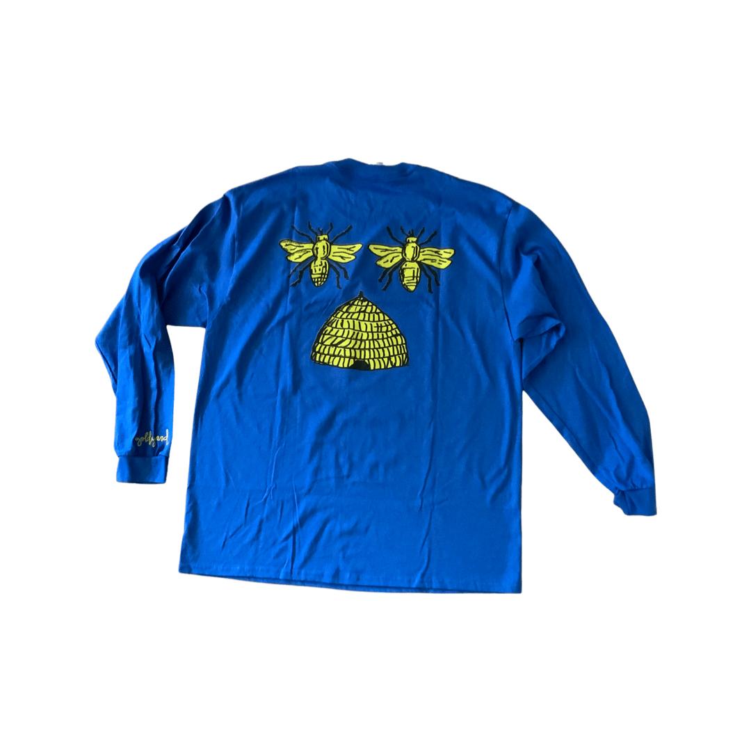 "Image of Limited Edition ""YARD"" Long-sleeve, Blue"