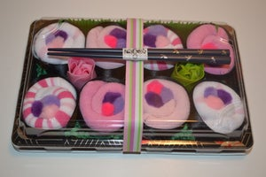 Image of Sushi, Baby! Baby Girl Sock Gift Set