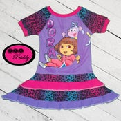 Image of **SOLD OUT** Dora The Explorer Dress - size 2/3